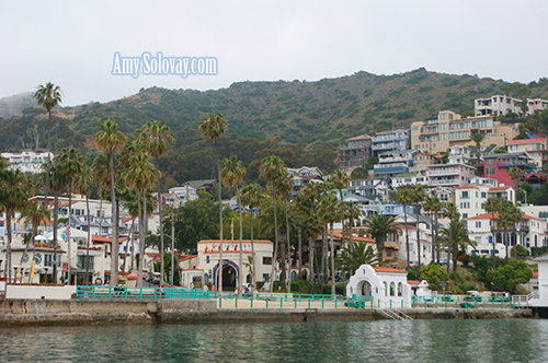 Avalon, California -- Catalina Island is one of Amy Solovay's favorite sailing destinations.