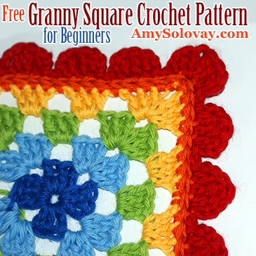 Free Granny Square Crochet Pattern for Beginners