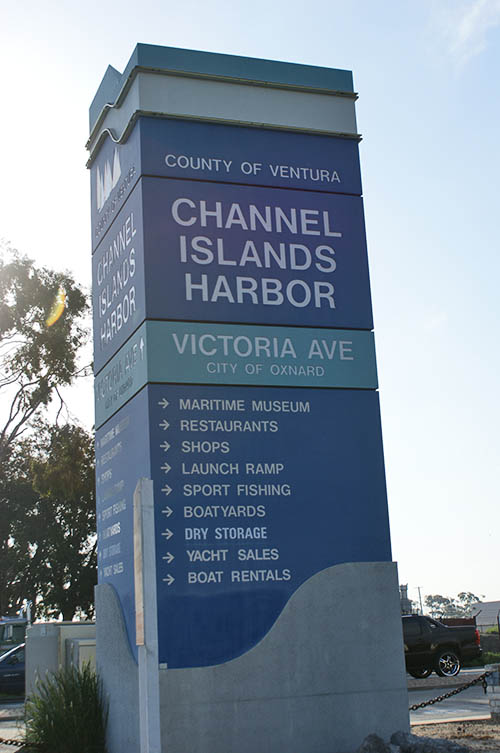 Channel Islands Harbor on Victoria Avenue in Oxnard, California -- This harbor is one of my favorite places on earth.