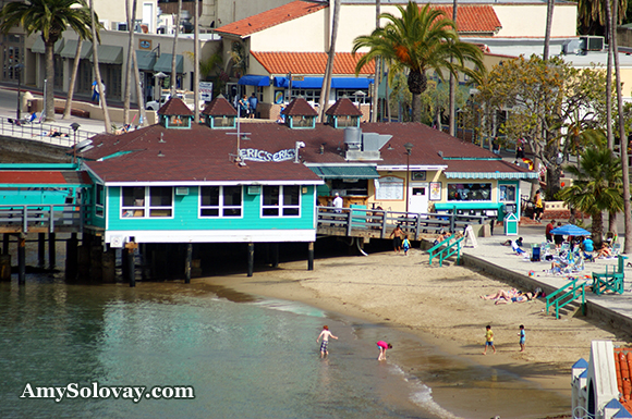 The Green Pleasure Pier in Avalon, California