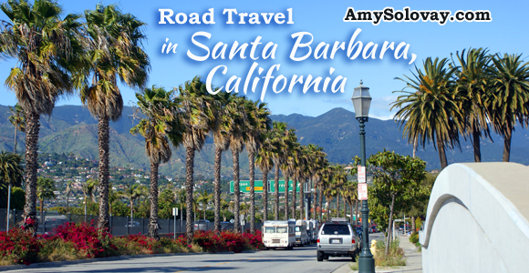 Road Travel in Santa Barbara, California