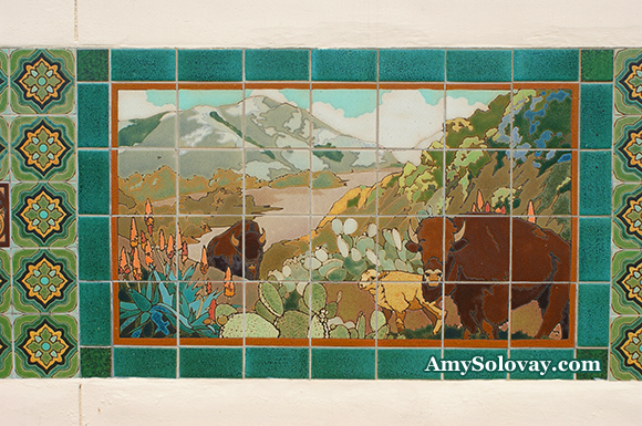 Tile Art in Avalon, California