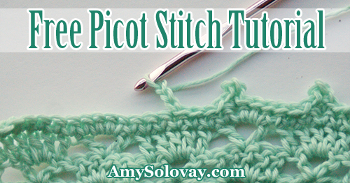 How to Crochet Picot Stitch -- Free Picot Stitch Tutorial