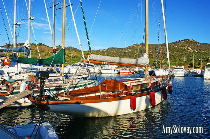 Yachts Docked in Marina Teulada