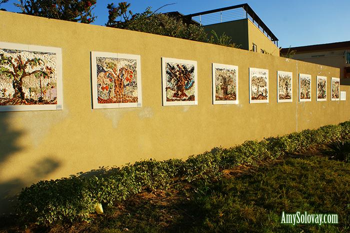 Mosaic Art at Park Baltimore in Ashkelon, Israel