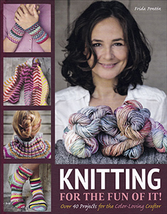 Knitting for the Fun of It! Book by Frida Ponten, Published by Trafalgar Square Books.