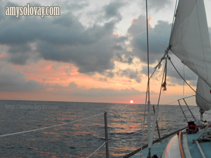 The sailing adventure continues